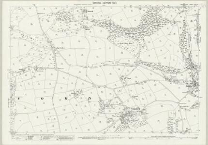 Devon XXIV.13 (includes: Bampton; Oakford) - 25 Inch Map