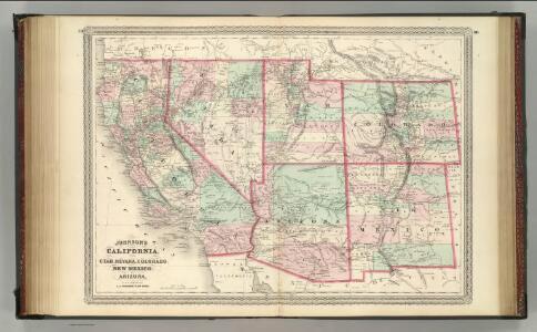 California, Utah, Nevada, Colorado, New Mexico, and Arizona.