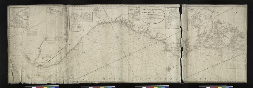 A new and accurate chart (from Captain Holland's surveys) of the North American Coast, for the navigation between Cape Cod in New England and the Havanna in the Gulf of Florida / respectfully inscribed to His Excellency Thomas Jefferson, president of the