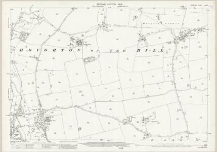 Norfolk LXXI.4 (includes: Ashill; Holme Hale; North Pickenham; South Pickenham) - 25 Inch Map