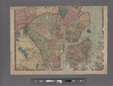 Watson's new map of the city of Brooklyn including Brooklyn