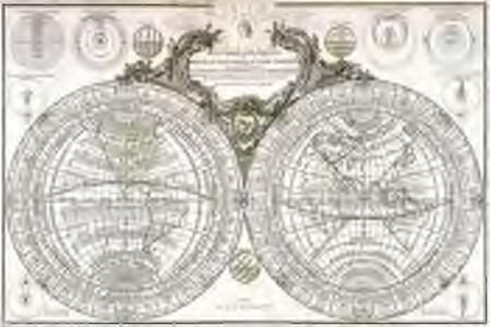 Mappe-Monde géo sphérique ou nouvelle carte idéale du globe terrestre