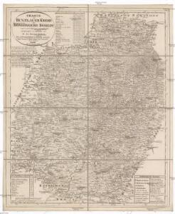 Charte vom Bunzlauer Kreise des Königreichs Böheim