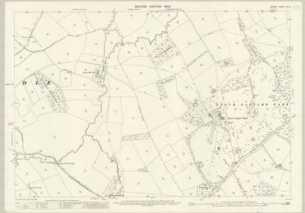 Dorset XII.8 (includes: Bishops Caundle; Holwell; Lydlinch; Stourton Caundle) - 25 Inch Map