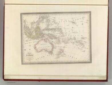Carte de Oceanie.