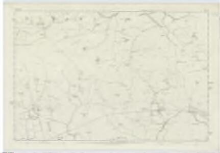 Berwickshire, Sheet XV - OS 6 Inch map