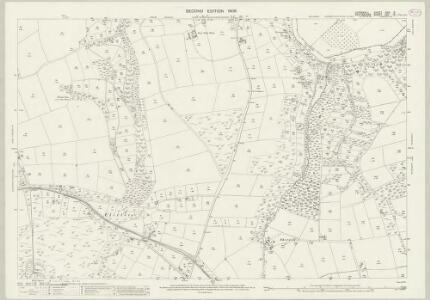 Cornwall XXIX.3 (includes: Calstock; Lamerton; Stoke Climsland) - 25 Inch Map