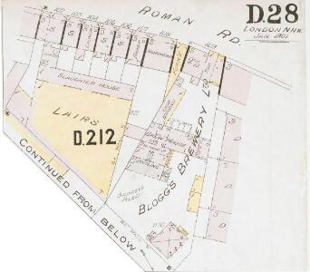 Insurance Plan of London North District Vol. D: sheet 28-2