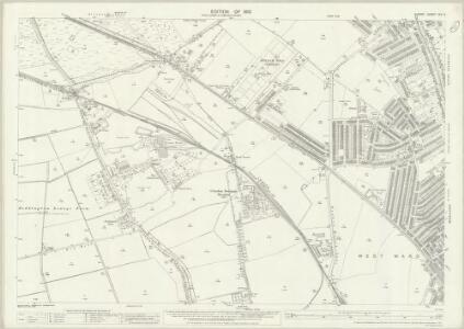 Surrey XIV.5 (includes: Beddington; Croydon St John The Baptist; Mitcham) - 25 Inch Map
