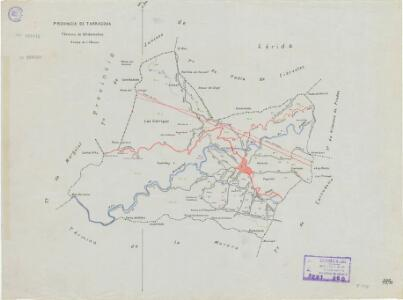 Mapa planimètric d'Ulldemolins
