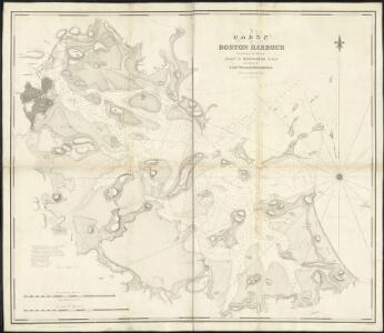 Chart of Boston Harbour, surveyed in 1817