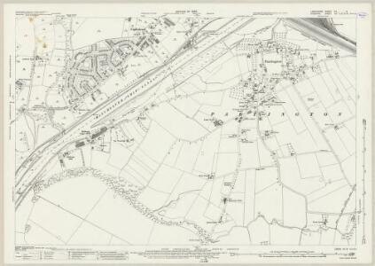 Lancashire CX.9 (includes: Carrington; Irlam; Partington; Rixton With Glazebrook; Warburton) - 25 Inch Map