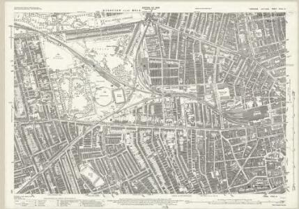 Yorkshire CCXL.2 (includes: Kingston Upon Hull Holy Trinity And St Mary; Sculcoates) - 25 Inch Map