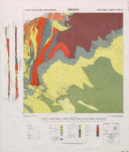 1 : 125,000 Somaliland Protectorate. Geological Survey. D.C.S. 1076, Erigavo