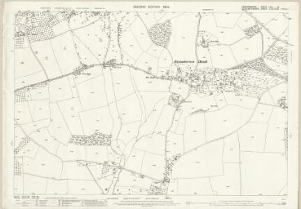 Herefordshire XLII.13 (includes: Bromsberrow; Donnington; Dymock) - 25 Inch Map