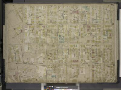 Brooklyn, Vol. 4, Double Page Plate No. 81; [Map      bounded by Humboldt St., Herbert St., Meeker Ave., William St., North Henry St.  (not opened), Richardson St., Humboldt St., Ainslie St., Leonard St.; Including  Frost St., Withers St., Jackson St.