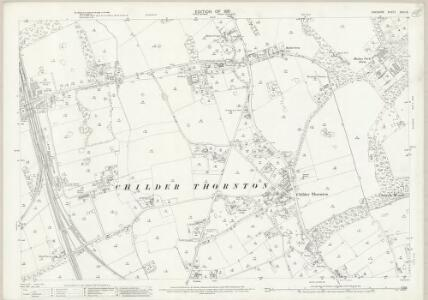 Cheshire XXIII.13 (includes: Eastham; Ellesmere Port; Willaston) - 25 Inch Map