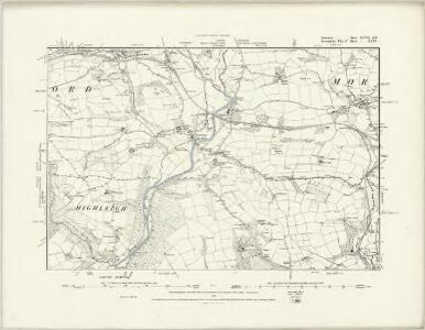 Somerset LXVII.SW - OS Six-Inch Map