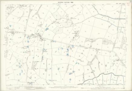 Kent LXXIX.9 (includes: Newenden; Sandhurst) - 25 Inch Map