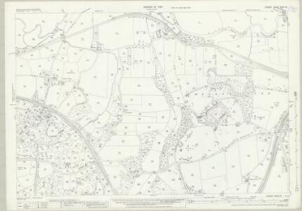 Dorset XXXIV.12 (includes: Corfe Mullen; Pamphill; Poole; Wimborne Minster) - 25 Inch Map