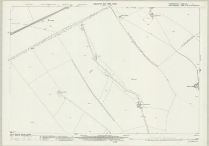 Cambridgeshire LXII.4 (includes: Kelshall; Steeple Morden; Therfield) - 25 Inch Map