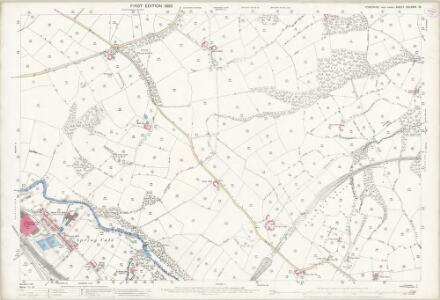Yorkshire CCLXXIII.16 (includes: Oxspring; Penistone) - 25 Inch Map