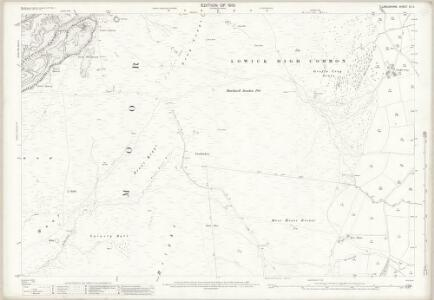 Lancashire XI.6 (includes: Kirkby Ireleth; Lowick; Osmotherley) - 25 Inch Map