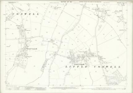 Berkshire VIII.13 (includes: Great Coxwell; Great Faringdon; Little Coxwell) - 25 Inch Map