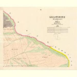 Krastowitz (Krastowice) - c2636-1-003 - Kaiserpflichtexemplar der Landkarten des stabilen Katasters