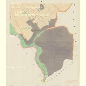 Busau (Bauzow) - m0193-1-005 - Kaiserpflichtexemplar der Landkarten des stabilen Katasters