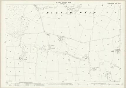 Pembrokeshire XLII.6 (includes: Castlemartin) - 25 Inch Map