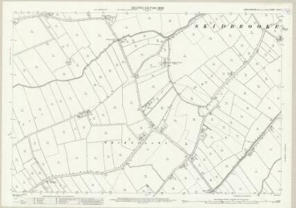 Lincolnshire XLIX.2 (includes: Saltfleetby All Saints; Saltfleetby St Clement; Skidbrooke with Saltfleetby Haven; South Somercotes) - 25 Inch Map