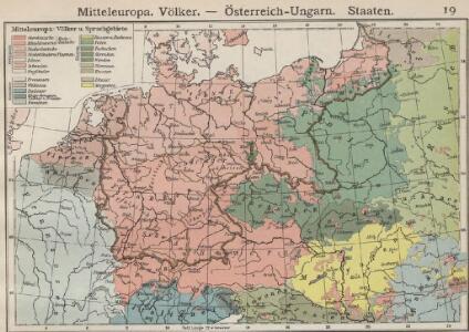Mitteleuropa. Völker