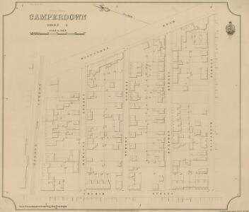 Camperdown, Sheet 3, 2nd ed. 1895