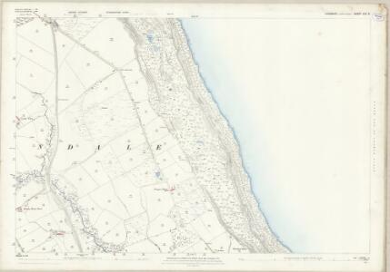 Yorkshire LXII.3 (includes: Staintondale) - 25 Inch Map