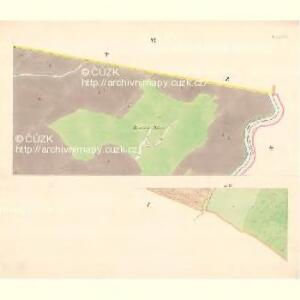 Turnitz (Twrdonice) - m3180-1-006 - Kaiserpflichtexemplar der Landkarten des stabilen Katasters