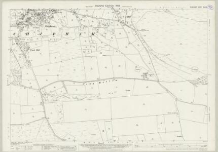 Somerset XVIII.9 (includes: Cheddar; Shipham; Winscombe) - 25 Inch Map