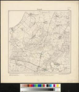 Meßtischblatt 854 : Ivenack, 1885