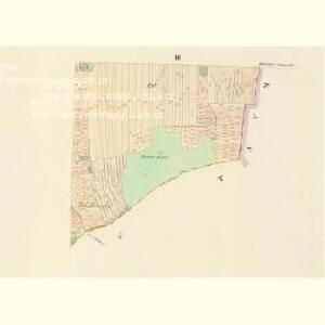 Hluboken (Hluboky) - c1888-1-003 - Kaiserpflichtexemplar der Landkarten des stabilen Katasters