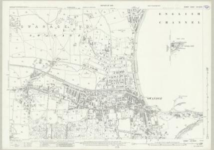 Dorset LVII.9 & 10 (includes: Swanage) - 25 Inch Map