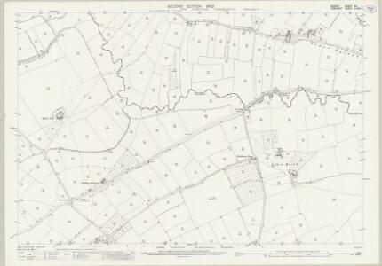 Dorset VII.1 (includes: Henstridge; Kington Magna) - 25 Inch Map