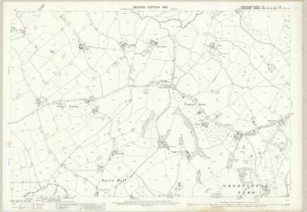 Shropshire VI.8 (includes: Bettisfield; Ellesmere Rural; Halghton; Hanmer; Penley) - 25 Inch Map
