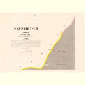 Neuzedlisch - c5287-1-002 - Kaiserpflichtexemplar der Landkarten des stabilen Katasters
