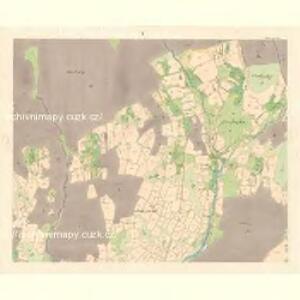 Zubrzy (Zubřzy) - m3614-1-005 - Kaiserpflichtexemplar der Landkarten des stabilen Katasters