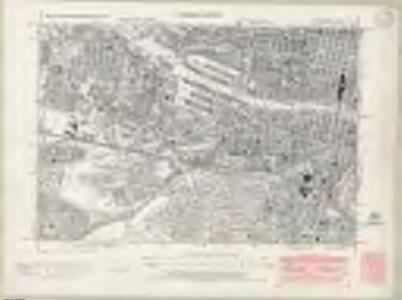Lanarkshire Sheet VI.SW - OS 6 Inch map