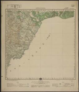 Afrique occidentale française-carte régulière. Siéroumba