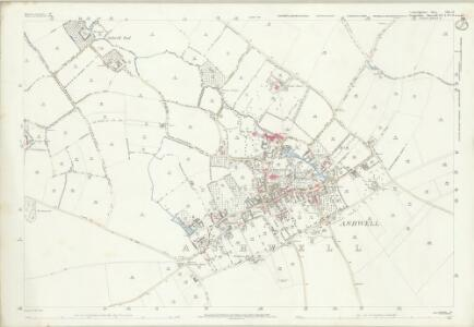 Cambridgeshire LVII.14 (includes: Ashwell; Guilden Morden) - 25 Inch Map