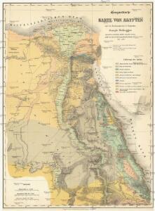 Geognostische Karte von AEgypten