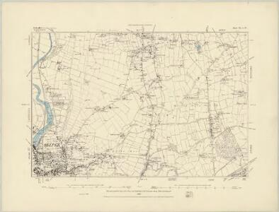Derbyshire XXXIX.NE - OS Six-Inch Map