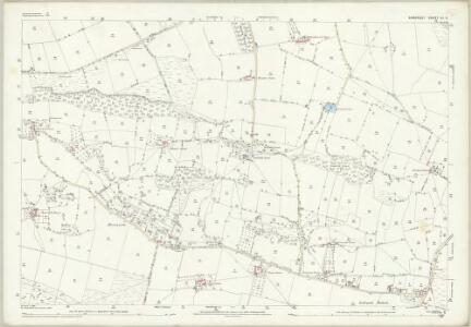 Somerset XI.3 (includes: Backwell; Barrow Gurney; Winford; Wrington) - 25 Inch Map